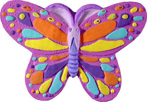 Butterfly Plaque Painting Kit
