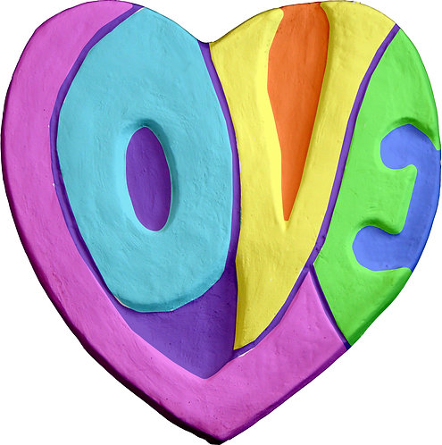 Love Heart Plaque Painting Kit