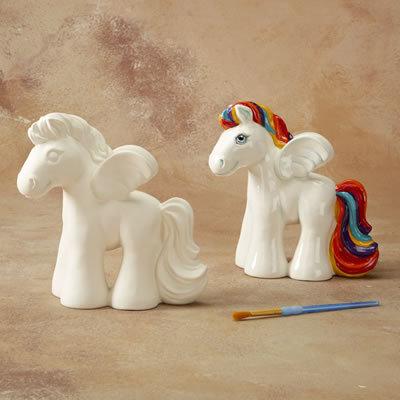 Pegasus Biggy Bank Painting Kit