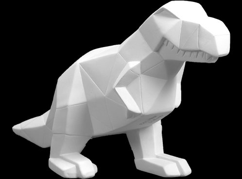 Faceted T-Rex Painting Kit