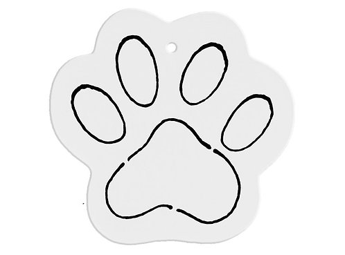 Hand Detailed Paw Party Ornament Painting Kit