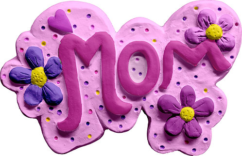 Mom Plaque Painting Kit
