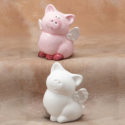 Pigs Fly Bank Painting Kit