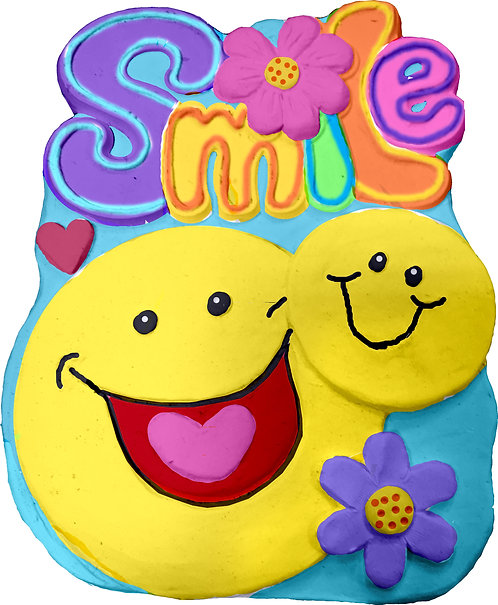 Smile with Smileys Plaque Painting Kit