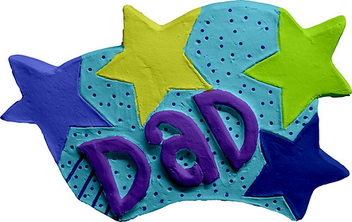 Dad Plaque Painting Kit