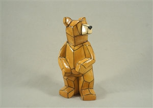 Origami Bear - Faceted