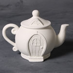 Teapot Fairy House