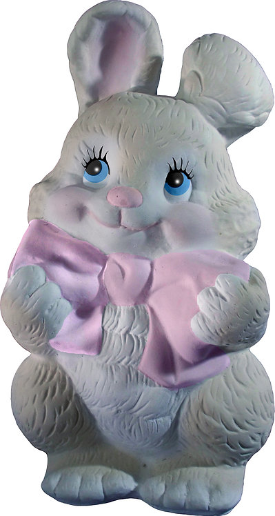 Bunny with Bow Statue Painting Kit
