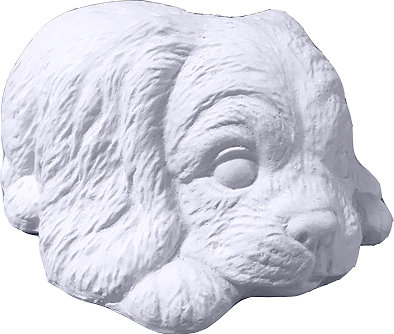 Pound Puppy Statue Painting Kit