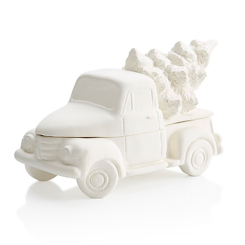Truck with Tree Box Painting Kit