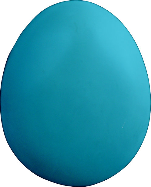 Plain Egg Plaque Painting Kit