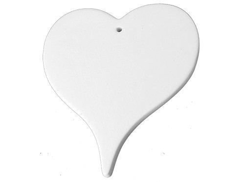 Flat Heart Ornament Painting Kit
