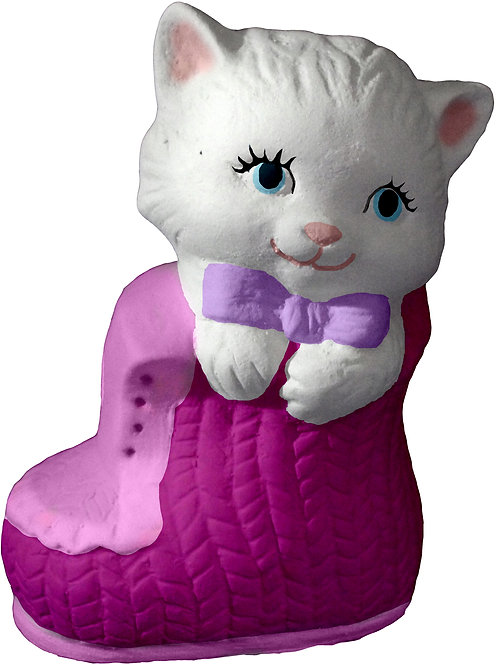 Cat in Bootie Statue Painting Kit