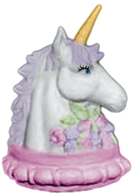 Unicorn Bust with Flowers Statue Painting Kit