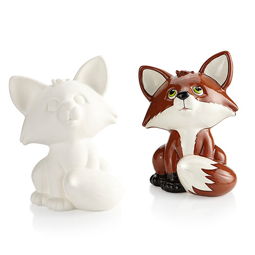 FOX BIGGY BANK Painting Kit