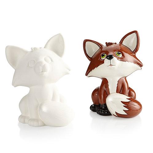 FOX BIGGY BANK Painting Kit