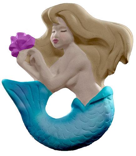 Flower Mermaid Plaque Painting Kit