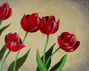 Tulips Are Red