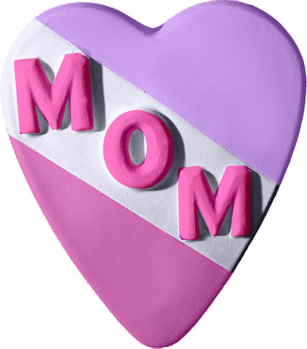 Mom Heart Plaque Painting Kit