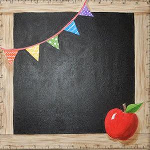 School Days Chalkboard