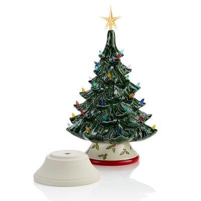 Medium Christmas Tree with Base and Light Kit