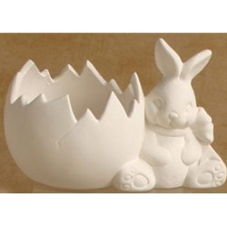 Bunny Cracked Egg Bowl