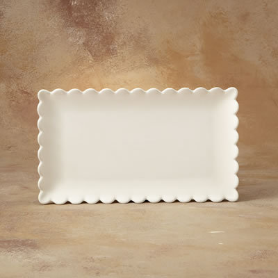 WHIMSY WARE RECTANGULAR PLATTER