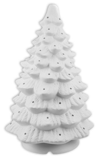 Large Lighted Christmas Tree 18 inches H Painting Kit
