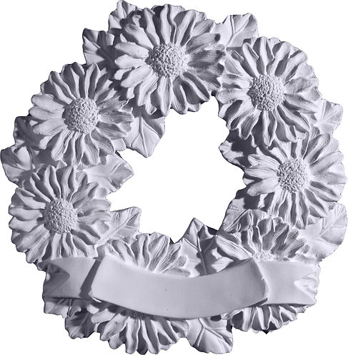 Flower Wreath Plaque Painting Kit