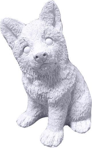 Husky Shepherd Puppy Statue Painting Kit
