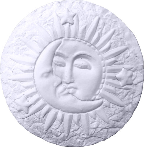Moon and Sun Plaque Painting Kit