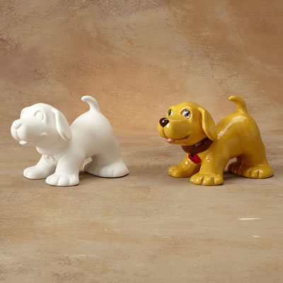 STANDING DOG BANK Painting Kit