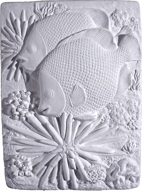 Angelfish Plaque Painting Kit