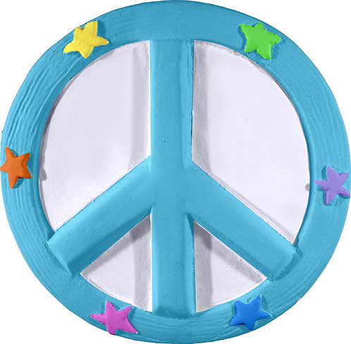Peace Symbol Plaque Painting Kit