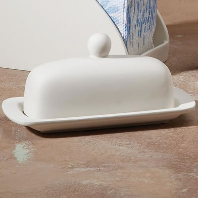 ROUNDED BUTTER DISH