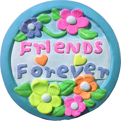 Friends Forever Plaque Painting Kit