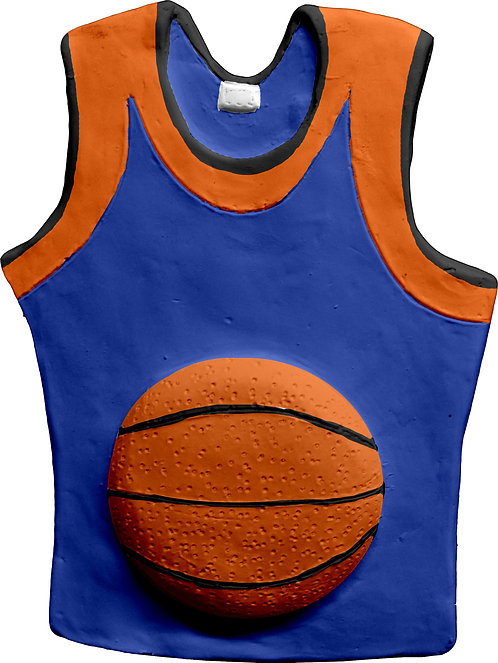 Basketball T Shirt Plaque Painting Kit