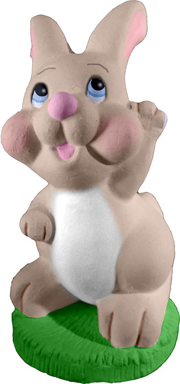 Waving Bunny Statue Painting Kit