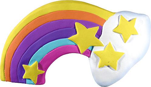 Rainbow with Stars Plaque Painting Kit
