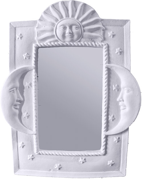 Sun and Moons Wall Mirror Rectangle Painting Kit