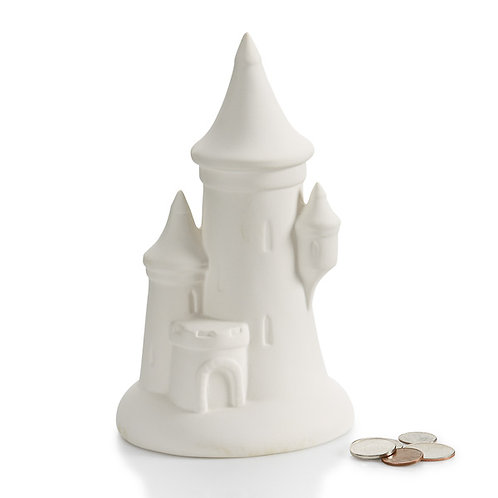 Castle Bank with Stopper Painting Kit