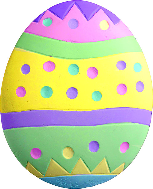 Dot Egg Plaque Painting Kit