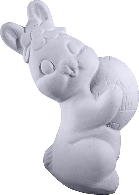 Bunny with Big Egg Statue Painting Kit