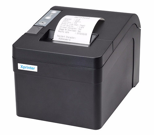 XP-T58K LAN port large gear thermal receipt printer suit for ESC/POS printer
