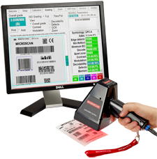 LVS-9580 Portable Barcode Verification System