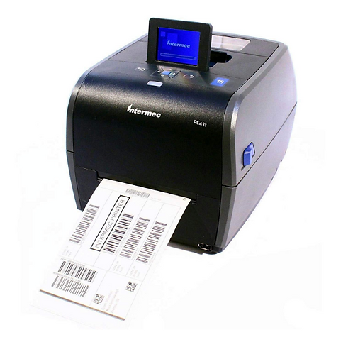 Honeywell PC43t Desktop Direct Thermal Lable Barcode Printer 300dpi