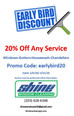 Early Bird Special 20% Off Any Service