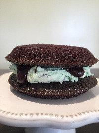 Vegan Mint Fudge Cookie