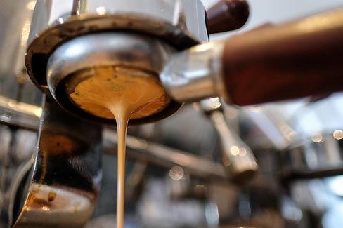 elektra espresso machine making good coffee