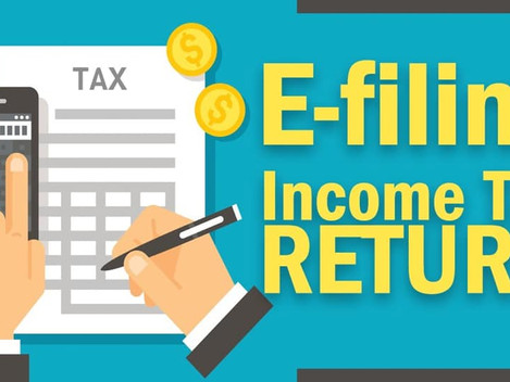 Have you filed your income tax return for your company?